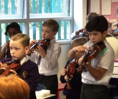 Y4 violin Pizzicato Drunken Sailor