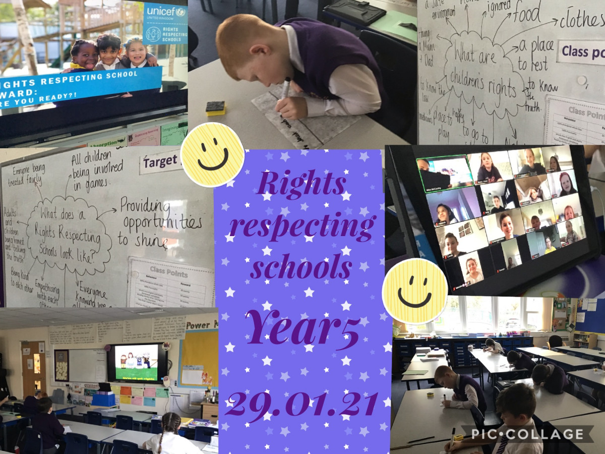 Year 5 RRS (29/1/21)