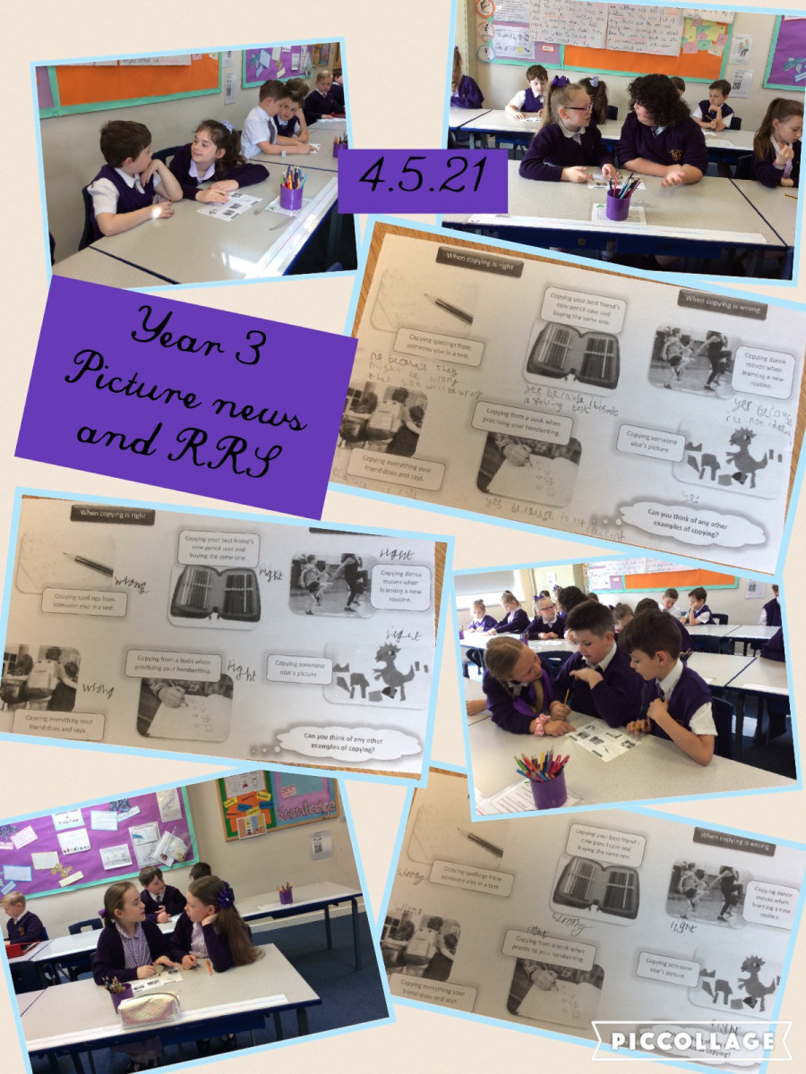 Year 3 - RRS and Talk Tuesday
