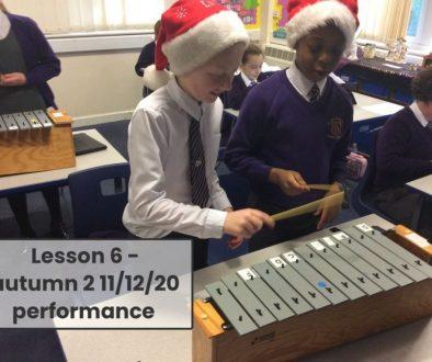Y6 Glockenspiel performance